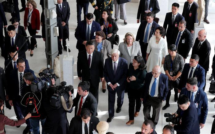 Ο Σι Τζινπίνγκ στο μουσείο Ακρόπολης: Εδώ είναι η θέση των Γλυπτών - εικόνα 6