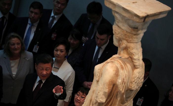 Ο Σι Τζινπίνγκ στο μουσείο Ακρόπολης: Εδώ είναι η θέση των Γλυπτών - εικόνα 2