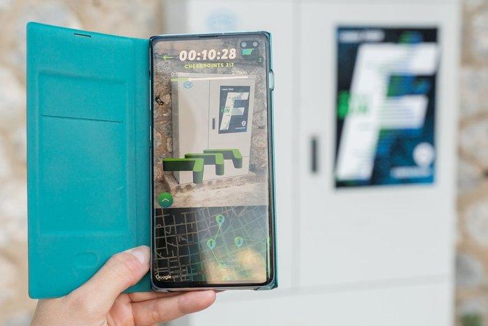 Η COSMOTE διοργάνωσε το Fiberathlon, ένα παιχνίδι που συνδύασε την εξερεύνηση και το κυνήγι θησαυρού με την τεχνολογία augmented reality και μοίρασε πλούσια δώρα