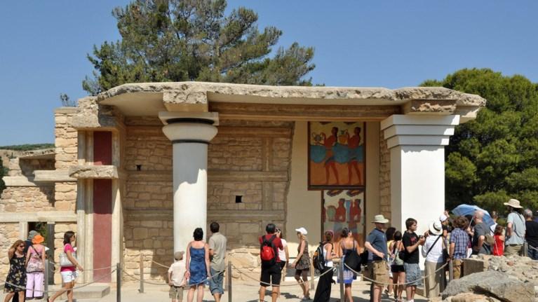 O Ερυθρός Σταυρός σε μουσεία και αρχαιολογικούς χώρους