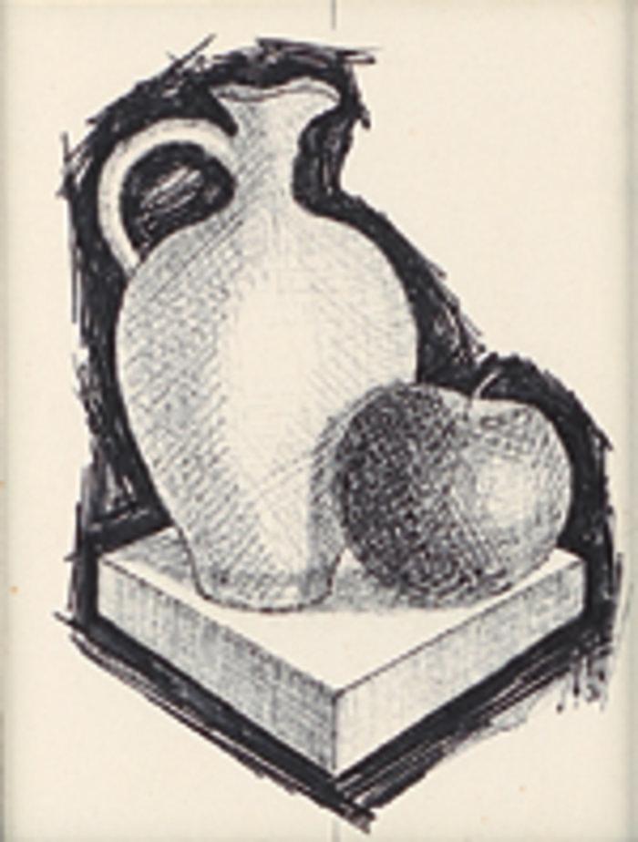 ΗΛΙΑΣ ΔΕΚΟΥΛΑΚΟΣΣπουδή, 1974-78Μικτή τεχνική 100 x 70 εκ.Ιδιωτική συλλογή