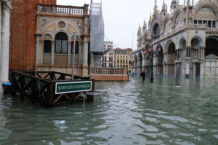 Βούλιαξε η Βενετία πλημμύρισε το 85% της πόλης