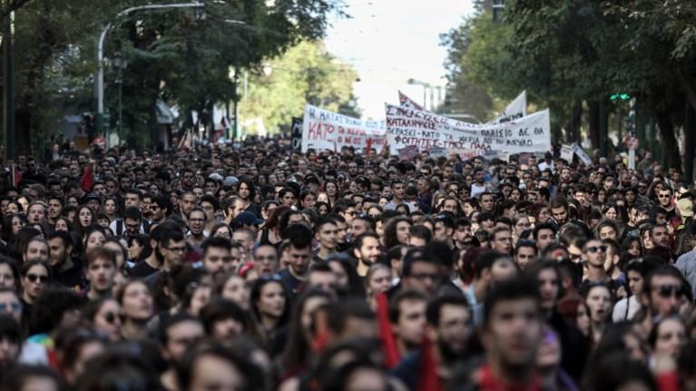 Επεισόδια στην πορεία φοιτητών - Τραυματίστηκαν 3 φωτορεπόρτερ