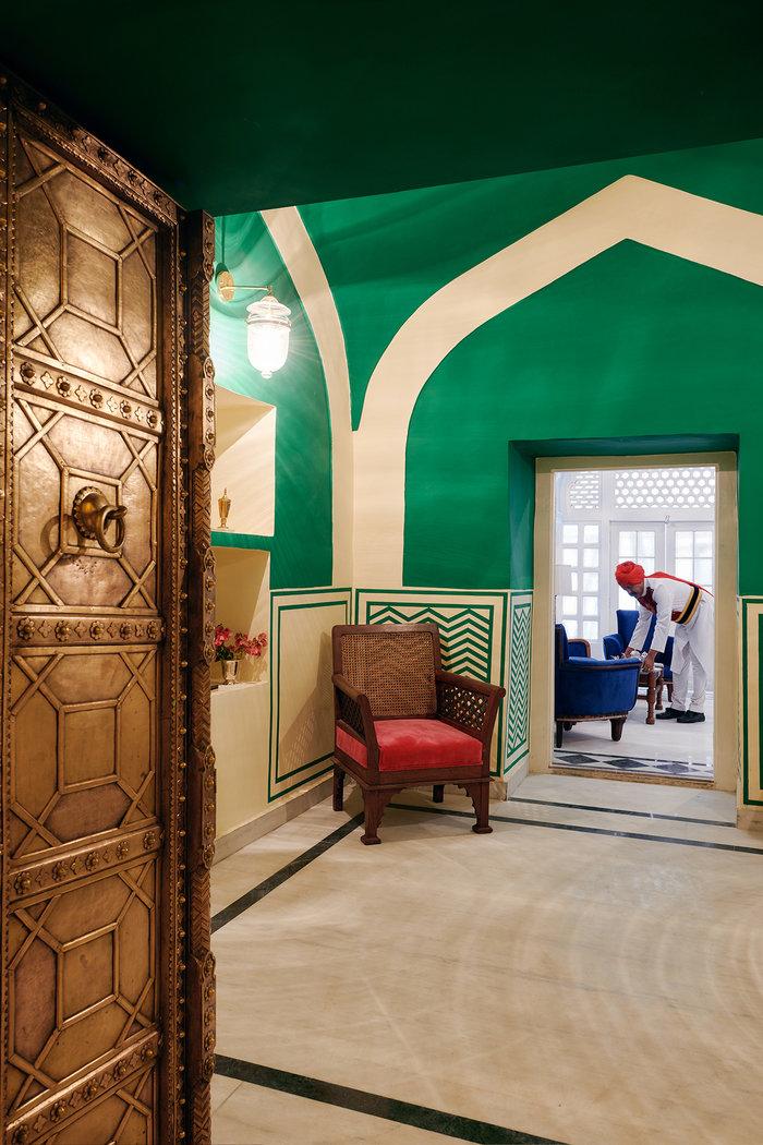 Σουίτα στο παλάτι της βασιλικής οικογένειας του Τζαϊπούρ στο Airbnb