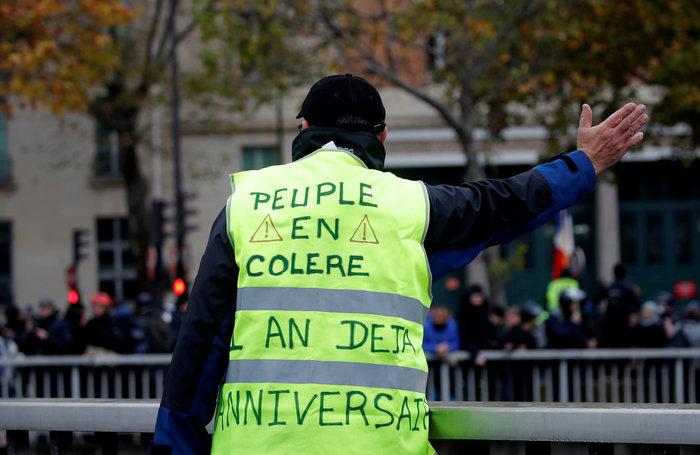 Ενας χρόνος Κίτρινα Γιλέκα: Επεισόδια στο Παρίσι - εικόνα 4