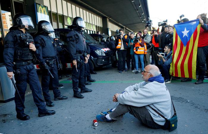 Νέα συγκέντρωση υπέρ της ανεξαρτησίας στη Βαρκελώνη