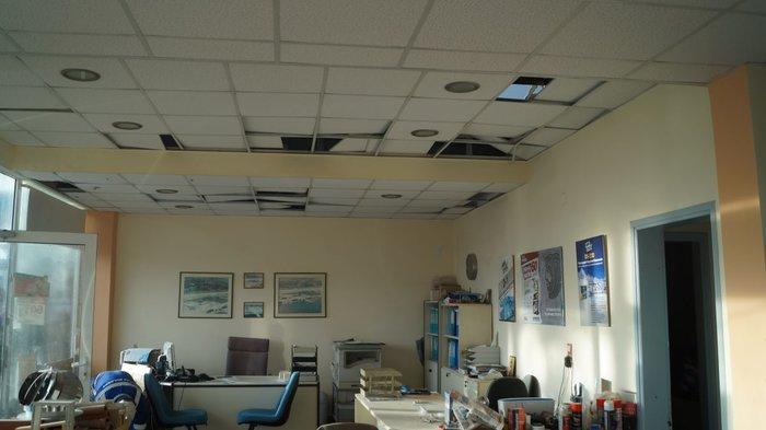 Υδροστρόβιλος στη Χίο: Ζημιές σε επιχειρήσεις και αυτοκίνητα-Βίντεο & φωτο - εικόνα 2