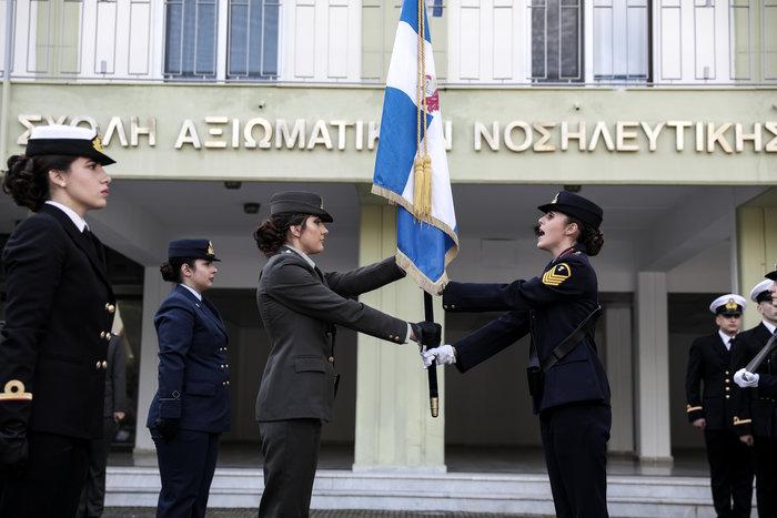 Ορκίστηκαν οι γυναίκες αξιωματικοί των Ενόπλων Δυνάμεων (φωτό) - εικόνα 3