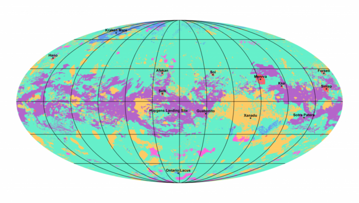 Ελληνες επιστήμονες χαρτογράφησαν τον Τιτάνα