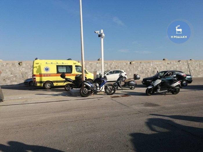 Βουτιά θανάτου στη Ρόδο - Νεκρός ο οδηγός, σώθηκε η συνοδηγός - εικόνα 3