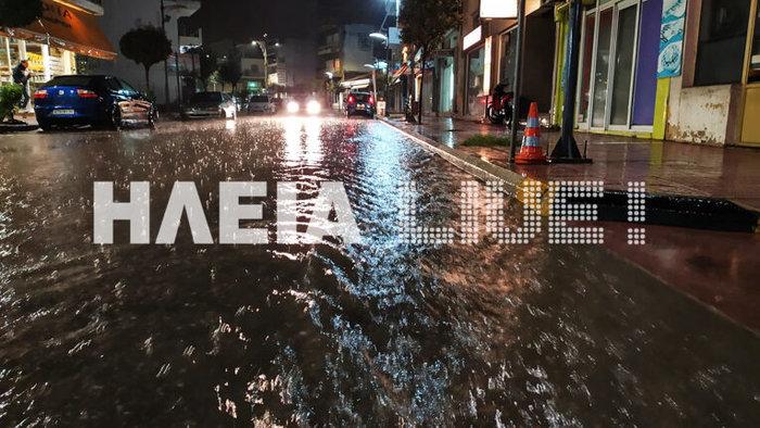 Εικόνες καταστροφής σε Χαλκιδική και Ηλεία από τις πλημμύρες - εικόνα 2