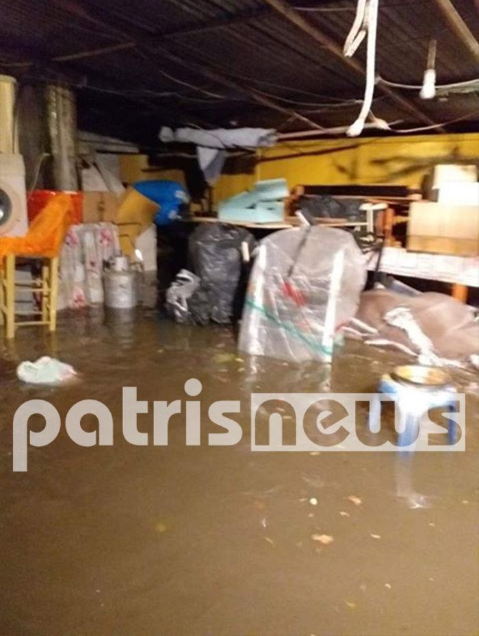 Εικόνες καταστροφής σε Χαλκιδική και Ηλεία από τις πλημμύρες - εικόνα 3