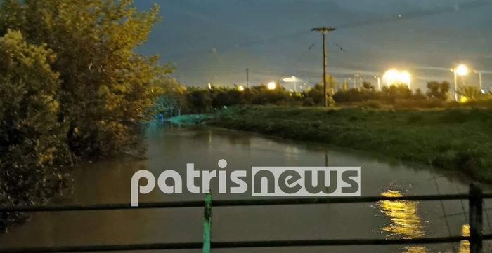 Εικόνες καταστροφής σε Χαλκιδική και Ηλεία από τις πλημμύρες - εικόνα 5