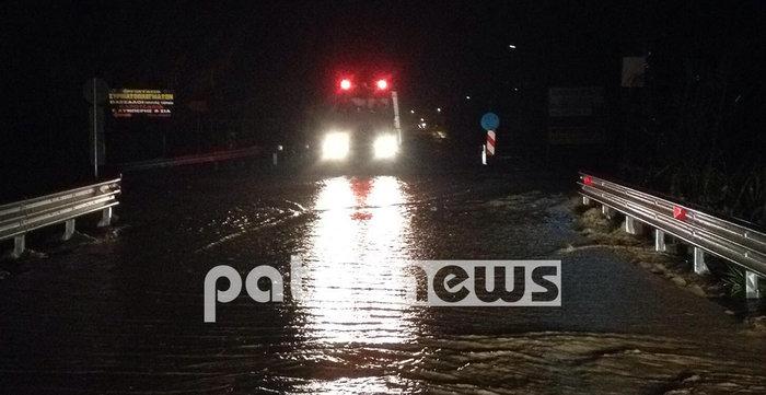 Εικόνες καταστροφής σε Χαλκιδική και Ηλεία από τις πλημμύρες - εικόνα 6
