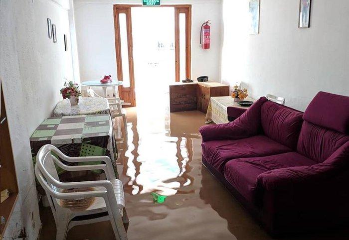 Εικόνες καταστροφής σε Χαλκιδική και Ηλεία από τις πλημμύρες - εικόνα 7
