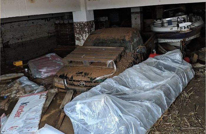 Εικόνες καταστροφής σε Χαλκιδική και Ηλεία από τις πλημμύρες - εικόνα 8