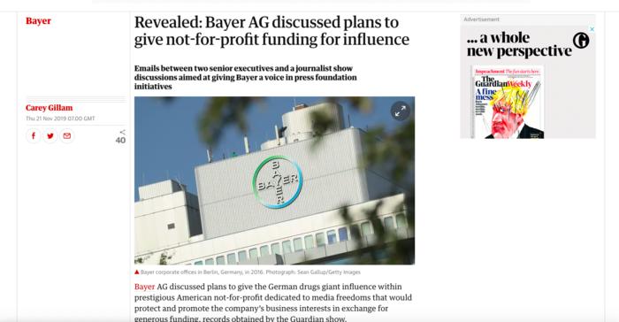 """Guardian: Εμπλοκή έλληνα δημοσιογράφου στην """"υπόθεση"""" Bayer-Τι λέει ο ίδιος"""
