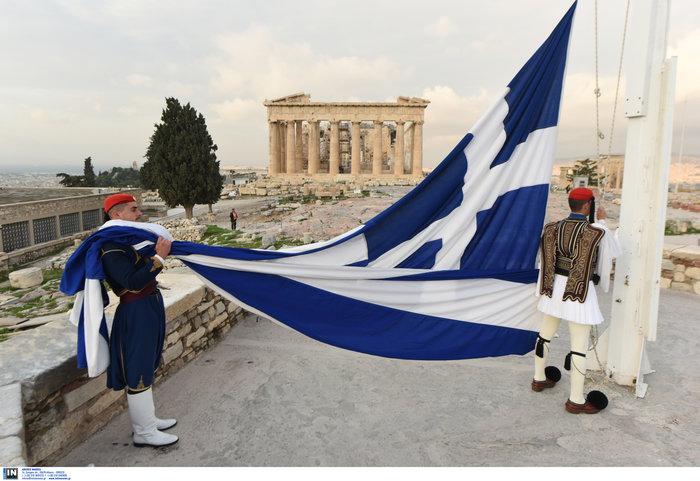 Λεβεντιά οι Εύζωνοι στην Ακρόπολη- Για την ημέρα των Ενόπλων Δυνάμεων - εικόνα 2
