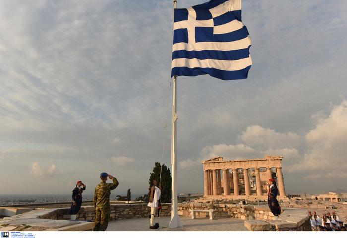 Λεβεντιά οι Εύζωνοι στην Ακρόπολη- Για την ημέρα των Ενόπλων Δυνάμεων - εικόνα 6