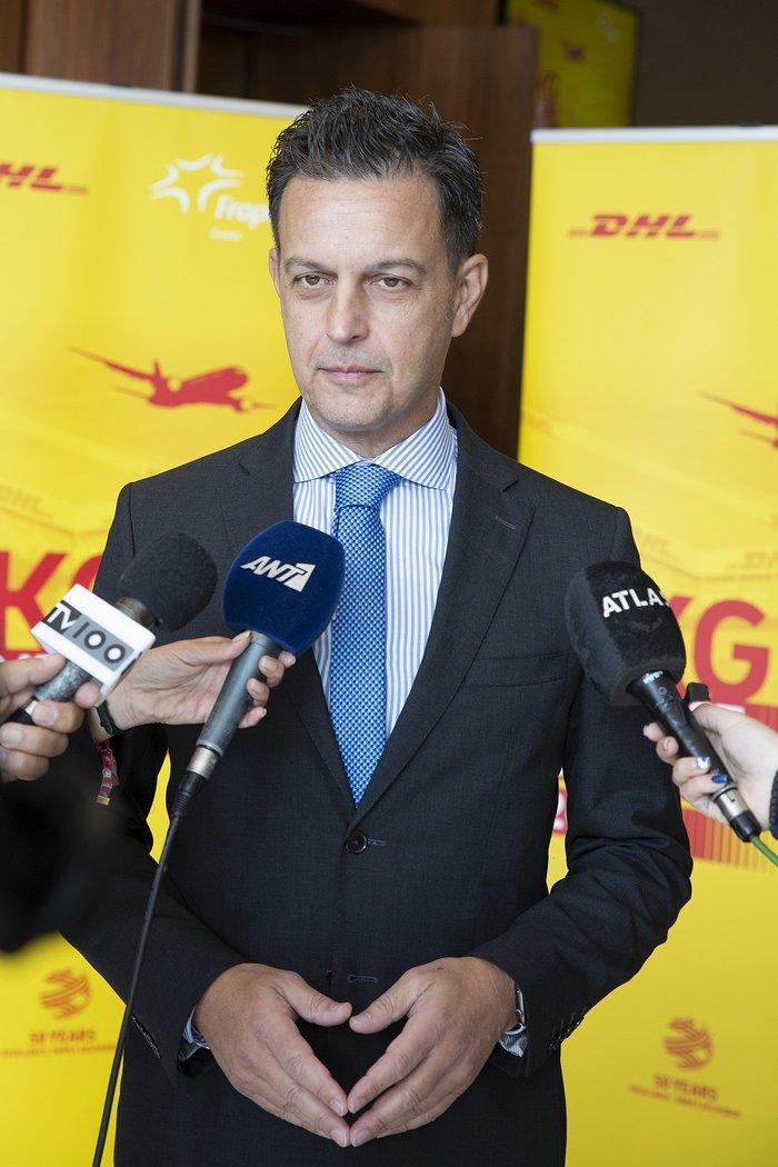 Ελευθέριος Σαμαράς, Διευθύνων Σύμβουλος DHL Express Ελλάδας, Κύπρου και Μάλτας