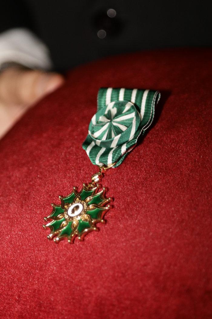 Το απονεμηθέν μετάλλιο
