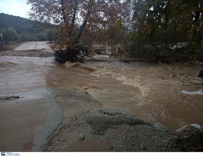 Απίστευτη καταστροφή στη Θάσο - Σε κατάσταση έκτακτης ανάγκης
