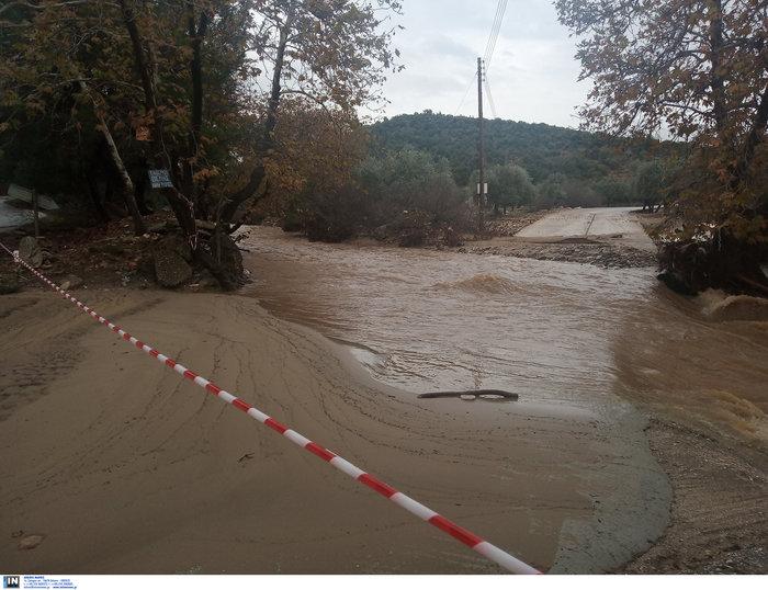Απίστευτη καταστροφή στη Θάσο - Σε κατάσταση έκτακτης ανάγκης - εικόνα 2