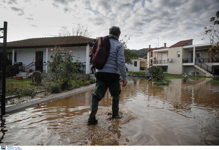 Χαλκιδική: Την «έπνιξε» η καταιγίδα - Τι είδαν οι υπουργοί - εικόνα 3