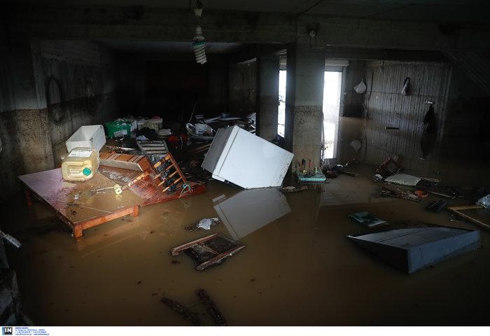 Χαλκιδική: Την «έπνιξε» η καταιγίδα - Τι είδαν οι υπουργοί - εικόνα 4
