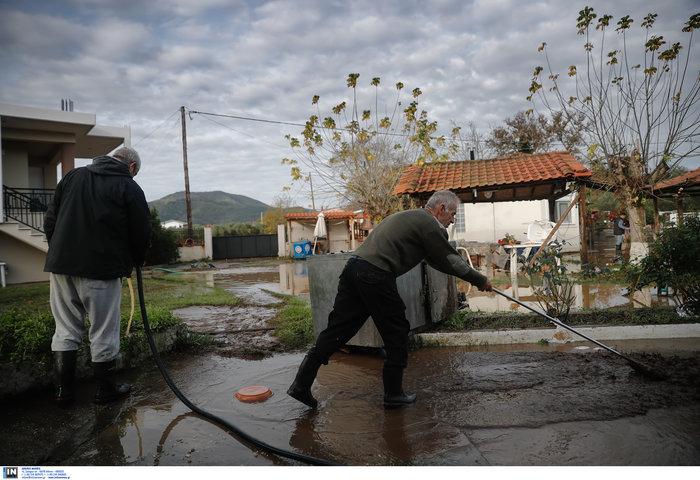 Χαλκιδική: Την «έπνιξε» η καταιγίδα - Τι είδαν οι υπουργοί - εικόνα 5