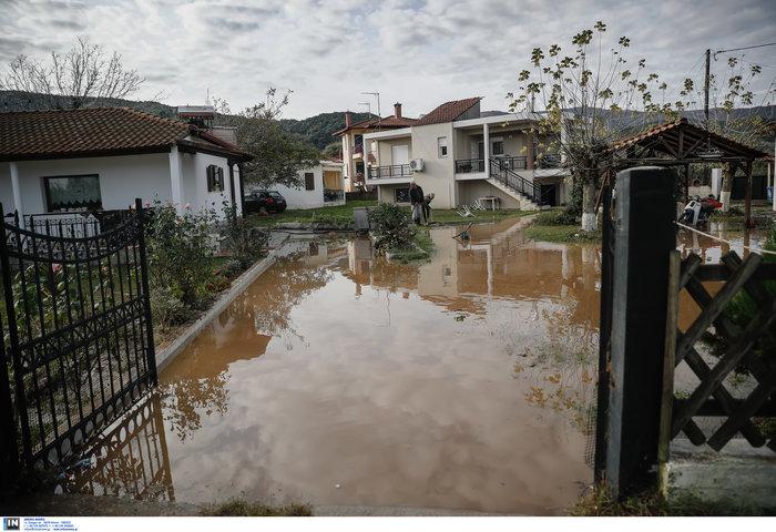 Χαλκιδική: Την «έπνιξε» η καταιγίδα - Τι είδαν οι υπουργοί - εικόνα 6