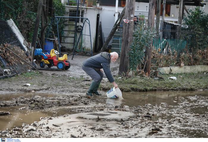 Χαλκιδική: Την «έπνιξε» η καταιγίδα - Τι είδαν οι υπουργοί - εικόνα 8