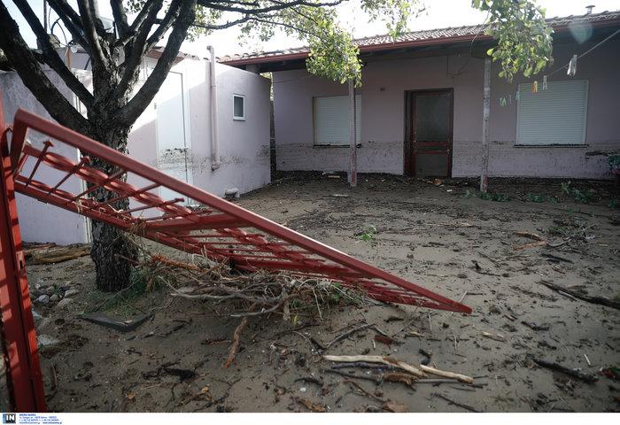 Χαλκιδική: Την «έπνιξε» η καταιγίδα - Τι είδαν οι υπουργοί - εικόνα 9