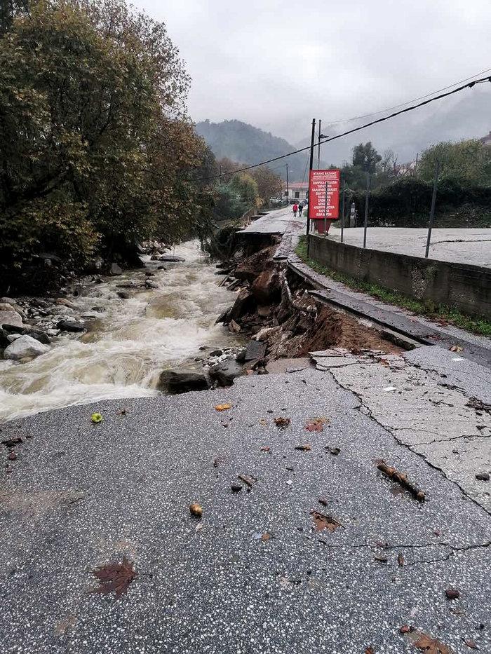 Εικόνες καταστροφής στη Θάσο - Μετράει τις πληγές του το νησί - εικόνα 5