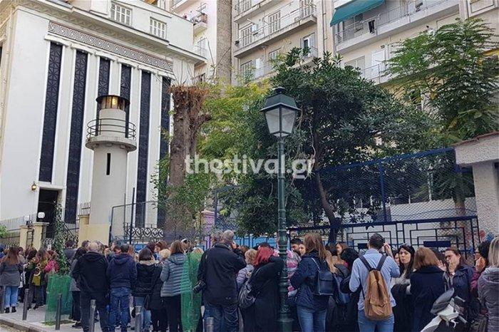 """Θεσσαλονίκη: Κοσμοσυρροή για ξενάγηση στην """"οικία"""" των Μασόνων (φωτό)"""