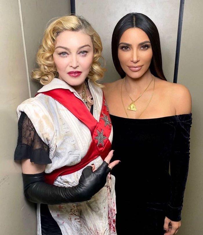 Τη βραδιά που η Μαντόνα συνάντησε την Κιμ Καρντάσιαν