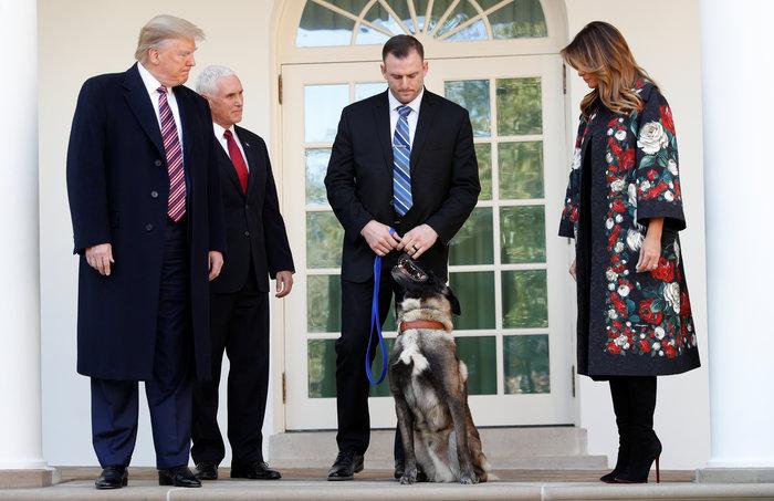 Ο Τραμπ παρασημοφόρησε τoν Κόναν: Ο σκύλος που κυνήγησε τον αλ Μπαγκντάντι