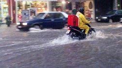 Βροχές & καταιγίδες σε όλη τη χώρα