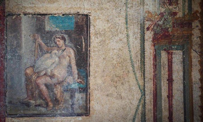 Η εξαίσια ερωτική τοιχογραφία της Πομπηίας ανοίγει στο κοινό [εικόνες] - εικόνα 2