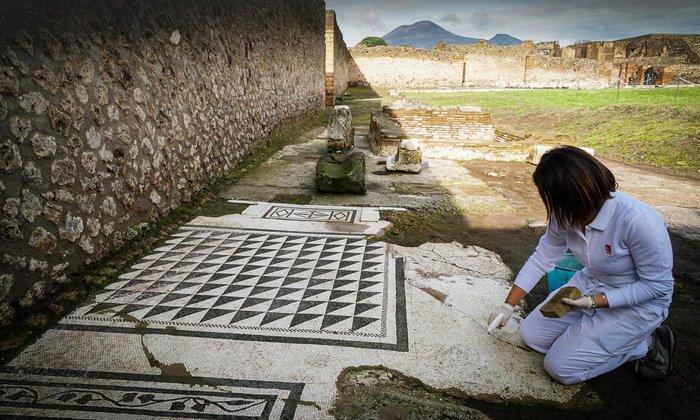 Η εξαίσια ερωτική τοιχογραφία της Πομπηίας ανοίγει στο κοινό [εικόνες] - εικόνα 3