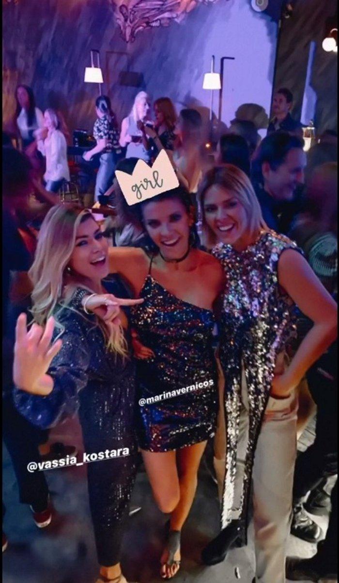 Μαρίνα Βερνίκου: Λαμπερό πάρτι γενεθλίων με fashionistas και καραόκε