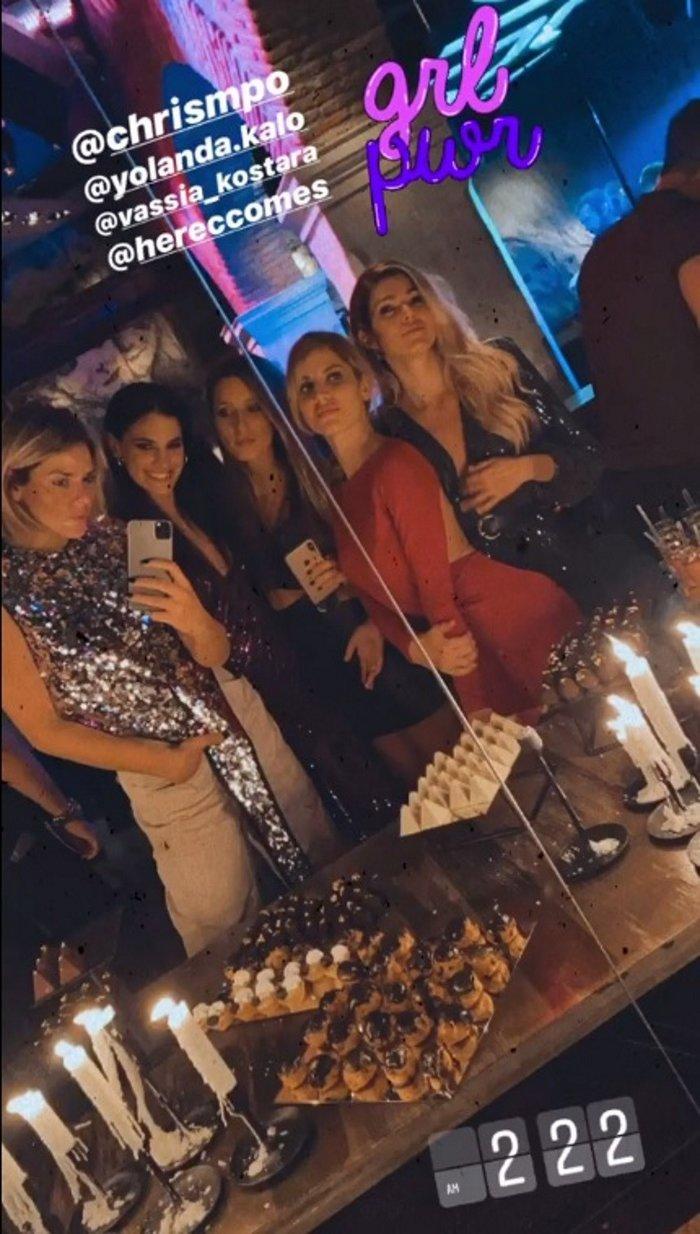 Μαρίνα Βερνίκου: Λαμπερό πάρτι γενεθλίων με fashionistas και καραόκε - εικόνα 2