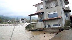 Εικόνες καταστροφής και στη Χαλκιδική από την κακοκαιρία