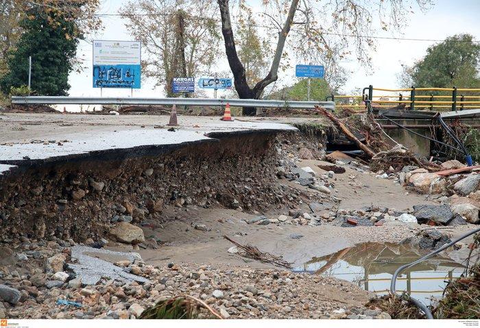Εικόνες καταστροφής και στη Χαλκιδική από την κακοκαιρία - εικόνα 5