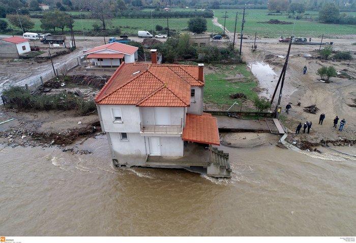 Εικόνες καταστροφής και στη Χαλκιδική από την κακοκαιρία - εικόνα 9