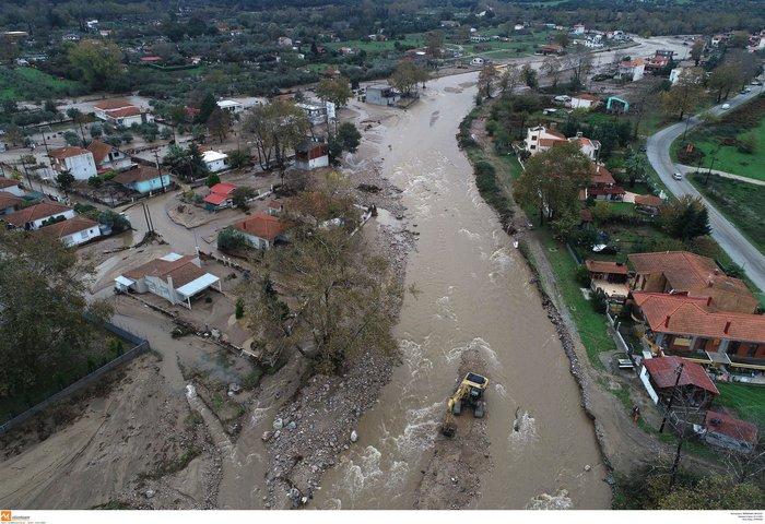 Εικόνες καταστροφής και στη Χαλκιδική από την κακοκαιρία - εικόνα 10