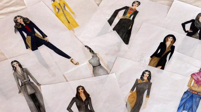 «FLAME»: Νεαρή πρόσφυγας δημιουργεί τη δική της κολεξιόν μόδας - εικόνα 3