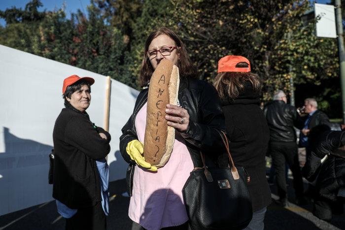 """""""Κόλαση"""" η Αθήνα εξαιτίας 100 συνδικαλιστών που κάνουν πορεία - εικόνα 2"""