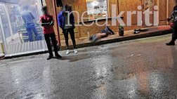 Εικόνες σοκ στο Τυμπάκι: Αιματηρή συμπλοκή με έναν νεκρό