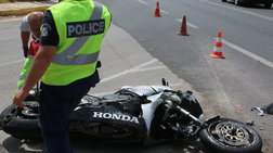 Τροχαίο με μοτοσικλέτα στην Κηφισίας - Τραυματίας ο αναβάτης